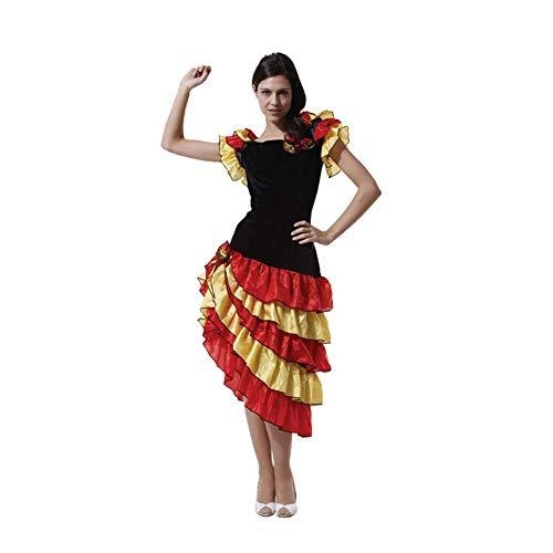 Halloween Adult Kostüm Kleider, Cosplay Kostüm Frau Rumba Herren Spanischer Stierkämpfer, Eine unvergessliche Halloween Nacht, 100% Polyester-1