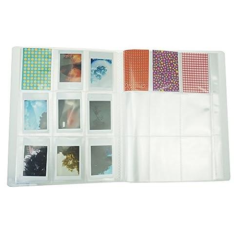 Cpano 196 Pockets Fotoalbum für Fujifilm Instax Mini 8 7s 8+ 9 25 26 50s 90 Polaroidfilme & Namenskarte