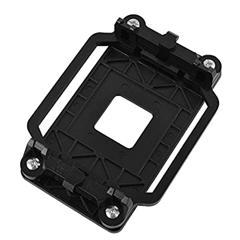 sourcingmap® AM2 AM3 FM1 FM2 FM2+ Socket Plastic CPU Fan Heatsink Bracket Holder Black