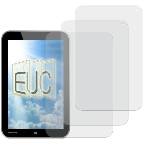 3 x Displayschutzfolie matt/entspiegelnd für Toshiba Encore Tablet