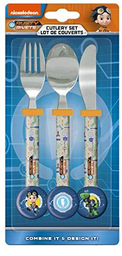 Rusty Rivets Cutlery Set, Knife/Fork/Spoon
