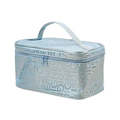 Frauen-Kosmetik-Beutel Mädchen Make-up-Tasche Multifunktions-Dame-Beutel-Kasten Wash Toilettartikel Kosmetik