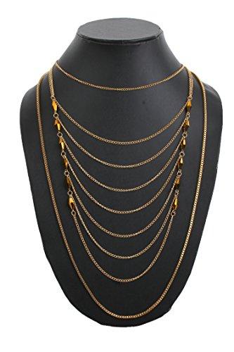 Bling N Beads Matinee Multilayer Designer Necklace Diwali Gift For Her
