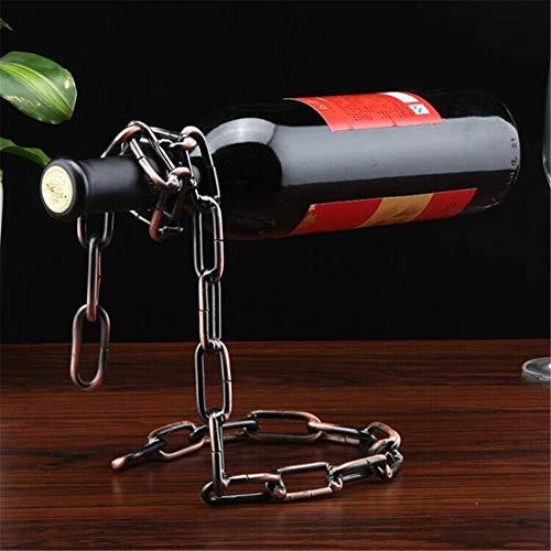 ZSY Home Creative Magic Chain Wine Holder Floating