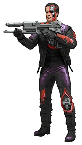 Neca - Figurine Robocop Versus Terminator Serie 1 - T-800 Plasma Rifle 18cm - 0634482519011
