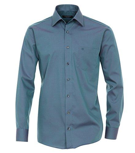 CASAMODA Herren Loose Fit Business Hemd 006060 Blau