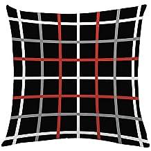 BBestseller Moda Geometría Imprimiendo Fundas de Almohada Infantiles,Cojines Sofa Decorativa para el hogar Pillow