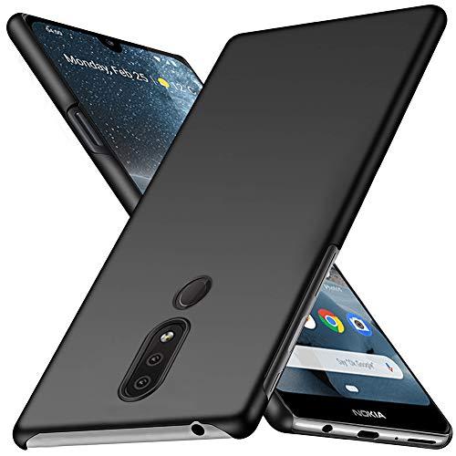 TOPACE Hülle für Nokia 4.2 Ultradünne Leichte Matte Handyhülle Einfache Stoßfeste Kratzfeste Schutzhülle kompatibel mit Nokia 4.2 (Schwarz)