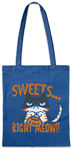 Urban Backwoods Sweets Right Meow Hipster Bag Beutel Stofftasche Einkaufstasche