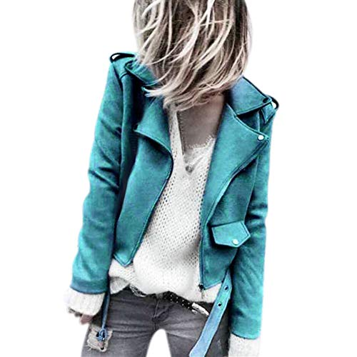 Preisvergleich Produktbild Sannysis Damen Herbst Winter Cardigan Lange Ärmel Pullover Schärpen Button Solide Reißverschlüsse Jacke Mantel Outwear