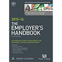 [(The Employer's Handbook 2015-16)] [By (author) Barry Cushway] published on (May, 2015)