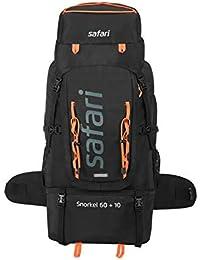 Safari 70 Ltrs Black Rucksack (SNORKEL6010L30RBBLK)