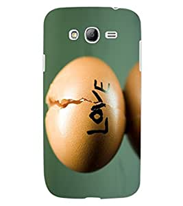 ColourCraft Creative Love Image Design Back Case Cover for SAMSUNG GALAXY GRAND Z I9082Z