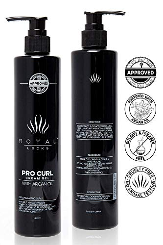 Royal Locks Crema Gel Peinar Rizos - Activador, hidratante