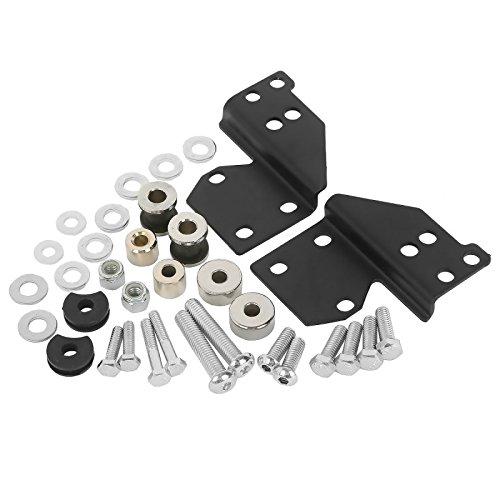 Kit de fixation docking hardware pour Harley Davidson Road Glide 98-08
