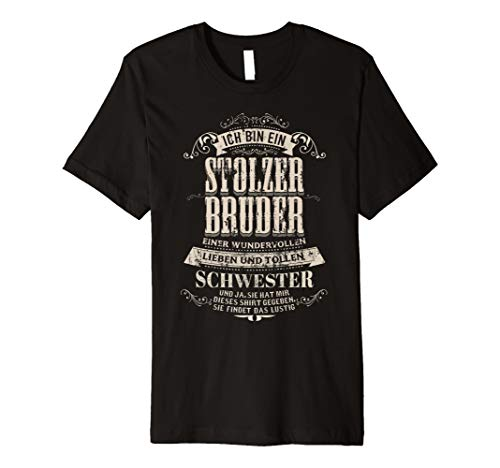 Wundervollen Stolzer Bruder Einer Tollen Schwester T Shirt