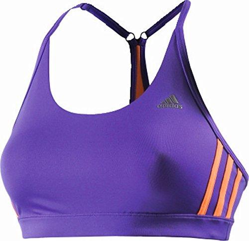 Adidas soutien-gorge de sport réversible Bleu - Night Flash S15/Flash Orange S15