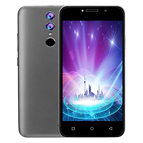 Fulltime E-Gadget Unlocked 3G LTE Android 7.0 Smartphone 512 MB RAM +4G ROM 2 SIM 4GB 2000mAh Batterie,WiFi 5MP AT&T Smartphone (Silber)