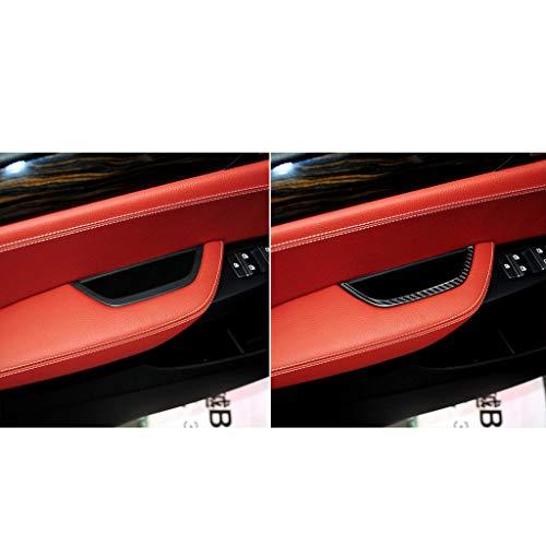 Ikevan 1 x Türarmstütze, dekoratives Flicken, Karbonfaser, für F25 F26 2011-2017X4