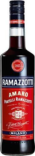 Ramazzotti Amaro/Der italienische Digestif mit 33 verschiedenen Kräutern/Absacker mit perfekter bittersüßen Note/1 x 0,7 L