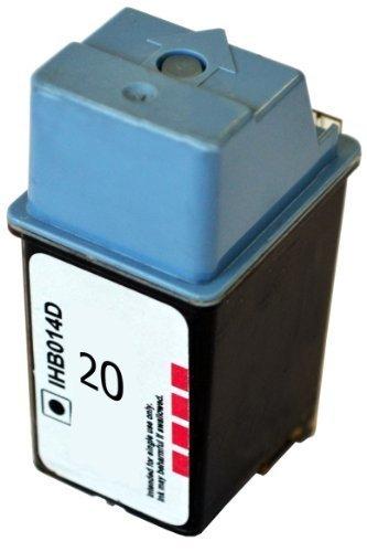 Bubprint Druckerpatrone kompatibel für HP 20 XL C6614DE für DeskJet 3920 V 610C 610 Series 615C 630C 630 Series 632C 640C 640 Series 650 Series Black (Inkjet-cartridge Original 20 Black)