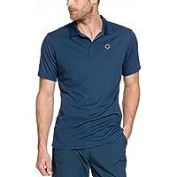 Gregster Oddo Polos de Golf, Hombre, Azul, L