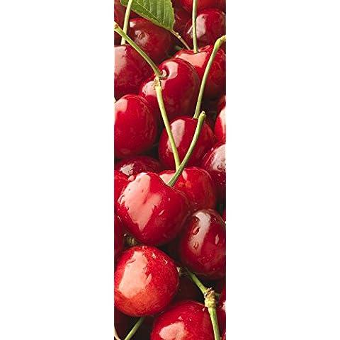 Plage 162255Pegatinas para cocina y Frigorífico de cerezas–Vinilo 180x 0.1X 59,5cm, multicolor