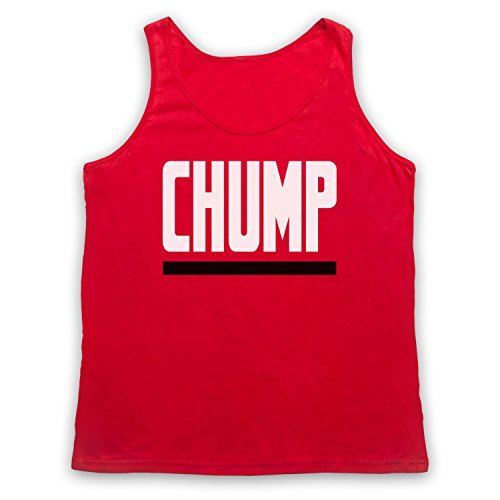 Chump Funny Slogan Tank-Top Weste Rot