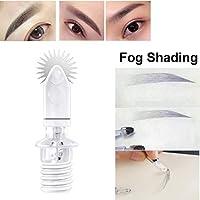 Guapa Agujas de Microblading de segunda generación de Pin de rodillo Colorante fácil para cejas Maquillaje permanente Sombreado de niebla (7mm-10pieza)