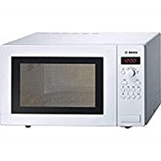 Bosch Series 2 HMT84M421B White Freestanding Microwave with 900W, 25 litres Capacity, 5 Power Levels and LED Display (B0056M446S)   Amazon price tracker / tracking, Amazon price history charts, Amazon price watches, Amazon price drop alerts