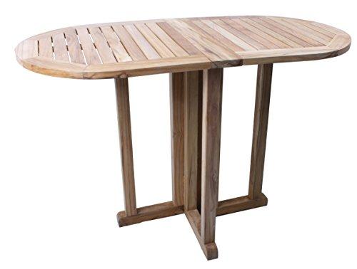 Benelando Klappbarer Gartentisch aus Teakholz