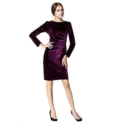 Moresave - Robe - Cocktail - Femme Violet
