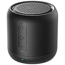 Anker Altoparlante Bluetooth Tascabile SoundCore Mini - Speaker Senza Fili Super-Portatile con Bassi Potenti, Tempo di Riproduzione di 15 Ore, Raggio di Connessione Bluettoth di 20 Metri, Radio FM, Microfono Incorporato e Guida Vocale per iPhone, iPad, Samsung, Huawei, Honor, Nexus, Laptop e Altri