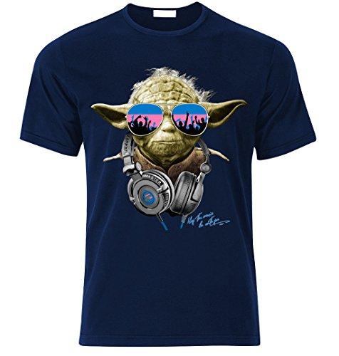 Tradebox Yoda Star Wars DJ Party Herren T-Shirt -