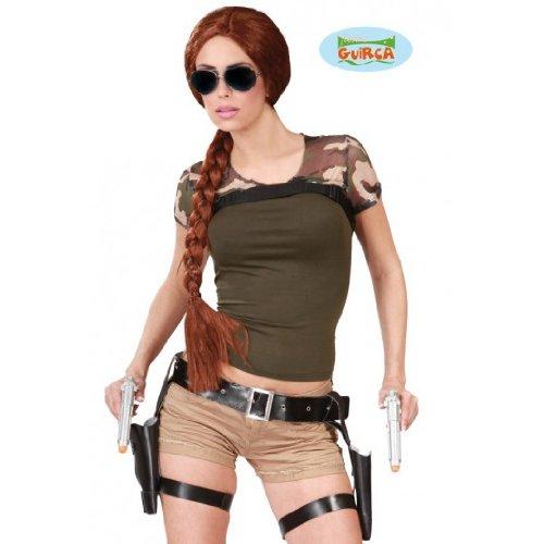 Doppelter Pistolen Holster Gürtel für Damen
