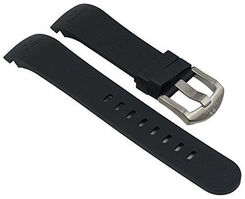 Ersatzband Kautschuk Band schwarz passend zu TW STEEL ? 45mm Grandeur TW-40