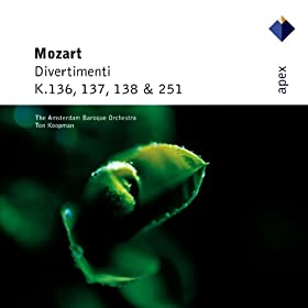 Mozart : Divertimento No.11 in D major K251 : V Rondeau - Allegro assai