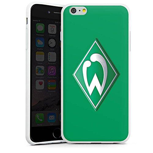 Apple iPhone 5 Hülle Case Handyhülle Werder Bremen Fanartikel Fussball Silikon Case weiß