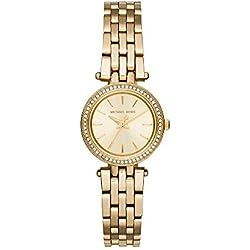 Michael Kors Reloj Analógico para Mujer de Cuarzo con Correa en Acero Inoxidable MK3295