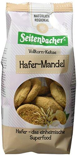Seitenbacher Vollkorn Hafer Mandel Kekse, 8er Pack (8 x 200 g)
