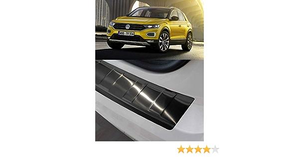 dal 2017 con smussatura Large A11 Recambo CT-LKS-2556 Protezione paraurti in Acciaio Inox Lucido per VW T-ROC