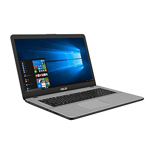 Asus VivoBook Pro 17 N705UN 90NB0GV1-M01430 43,9 cm (17,3 Zoll Full HD Matt) Notebook (Intel Core i5-8250U, 8GB RAM, 256GB SSD, 1TB HDD, NVIDIA MX150 2GB, Win 10) grey metal (8 Laptop Ram Asus Gb)