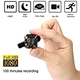 Videocamera Mini SQ10 1080P Mini videocamera 12.0MP IR Night Vision Videocamera Mini DV Piccola videocamera domestica Telecamera di sorveglianza di sicurezza domestica Videocamera Full HD mini per sis