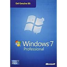 Microsoft OEM Windows 7 Pro Sp1 32-64 Bit Kit Legal 1 licencia