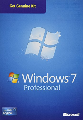 Microsoft OEM Windows 7 Pro Sp1 32-64 Bit Kit Legal 1 licencia