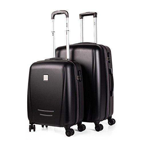 Set de maletas modelo Denver - Negro