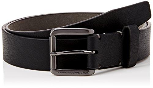 french-connection-mens-stabstitch-belt-black-black-grey-xx-large-manufacturer-size-38