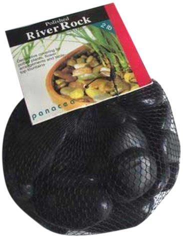 Panacea 70033River Rock, schwarz, 2Pfund -