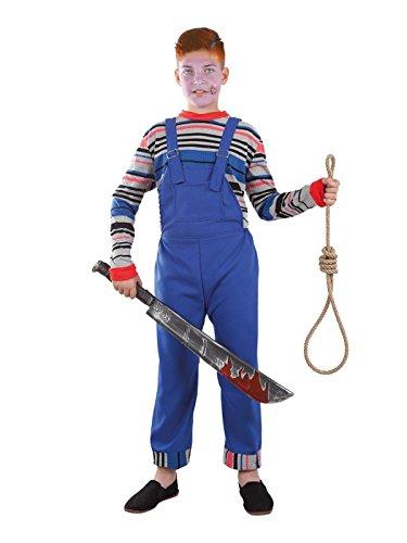 Imagen de disfraz de muñeco diabólico niño  único, 9 a 11 años