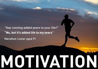 """MOTIVATIONAL-Marathon Run - 77 year old man (englischsprachig), A3, Poster/Druck, Bild, Poster, Zitat """", BOXING, Sport, Fahrrad, Sport, BODYBUILDING, TRIATHLON, BASKETBALL, Fußball, RUGBY, Schwimmen, Boxen, Kampfsport, GOLF, SQUASH-Schläger"""